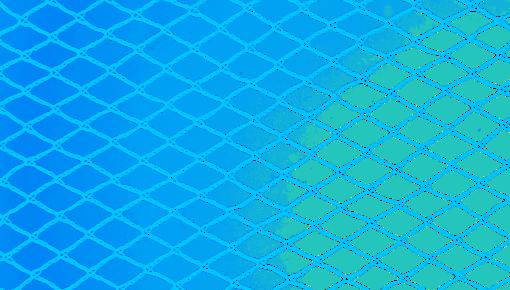 Blauwe netten voor gewasbescherming