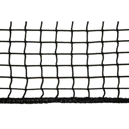 Loungenet ongeknoopt 45mm  zwart op maat gemaakt