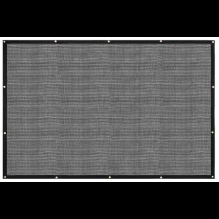 PE aanhanger gaasnet 400x200 met band en ogen