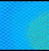 Knooploos tuinnet - 22mm 16x16 blauw