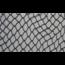 Nylon net geknoopt zwart 27mm maas dropmaas