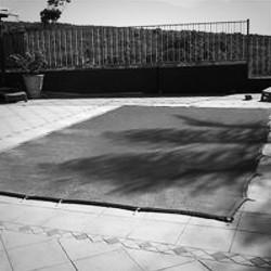 Zwembadnet en afdekzeil