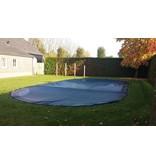 Zwembad afdeknet kleur zwart, per M2