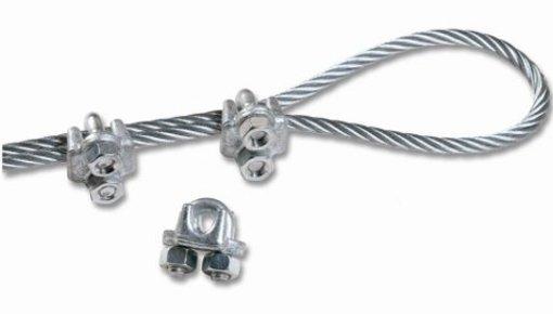 Staalkabel en accessoires voor bevestiging
