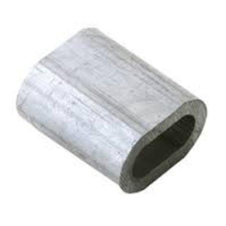 Draadklem 3mm aluminium