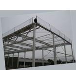 Valnet Randnet 2.5x15 37.5 m2 geknoopt wit