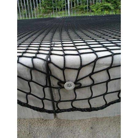 Kunststof montagedop voor een net, ideaal voor een eenvoudige bevestiging van een net.