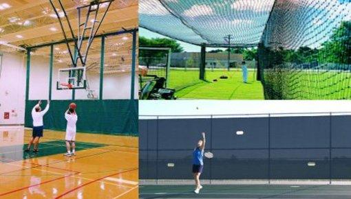 Netten voor diverse sporten en toepassingen