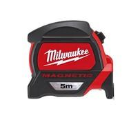 Milwaukee Magnetische rolbandmaat  5m.
