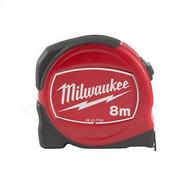 Milwaukee Rolbandmaat Slimline 8m- 25mm