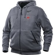 Milwaukee M12 HH GREY3-0 Heated Hoodie