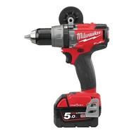 Milwaukee M18ONEPD2-502X Slagboormachine ONE KEY 18V/ 5.0Ah