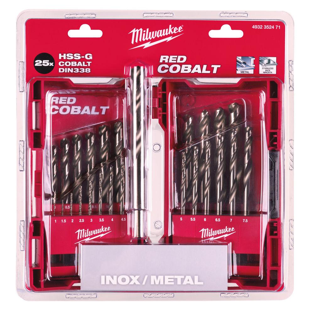 RED COBALT Set HSS-G metaalboren