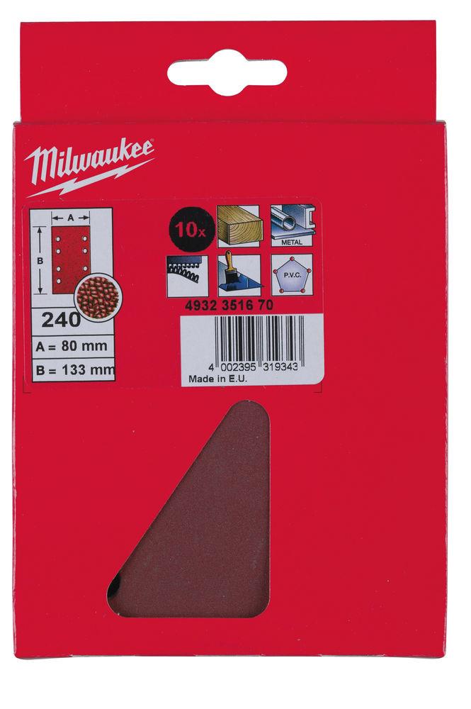 Diverse Schuurpapier 80 x 133mm