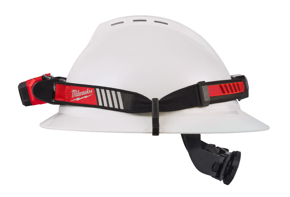 L4HL-VIS-201 USB oplaadbare reflecterende hoofdlamp