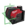 M12™ CLLP groene kruislijnlaser/loodlaser