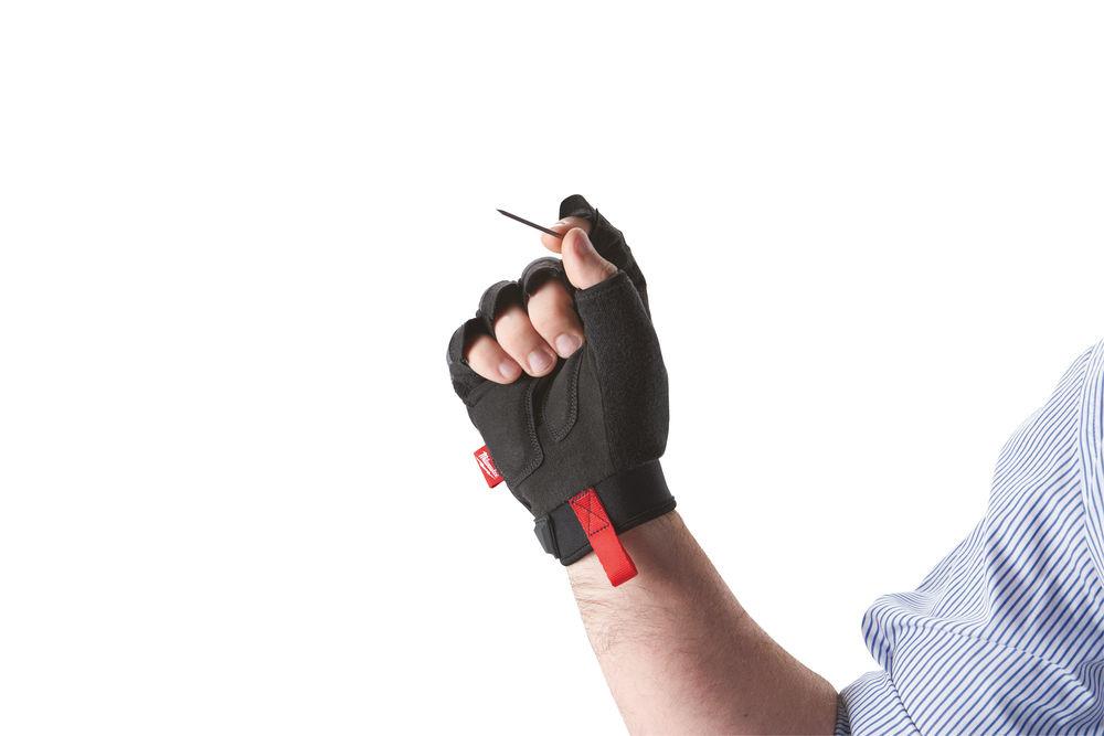 Werkhandschoenen vingerloos