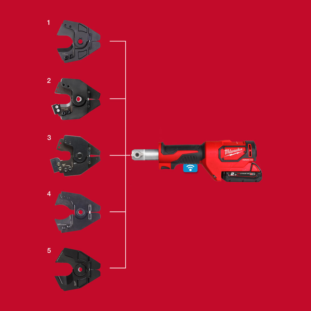 M18 ONEHCC ONE-KEY™ FORCE LOGIC™ hydraulische 35 mm kabelkniptang