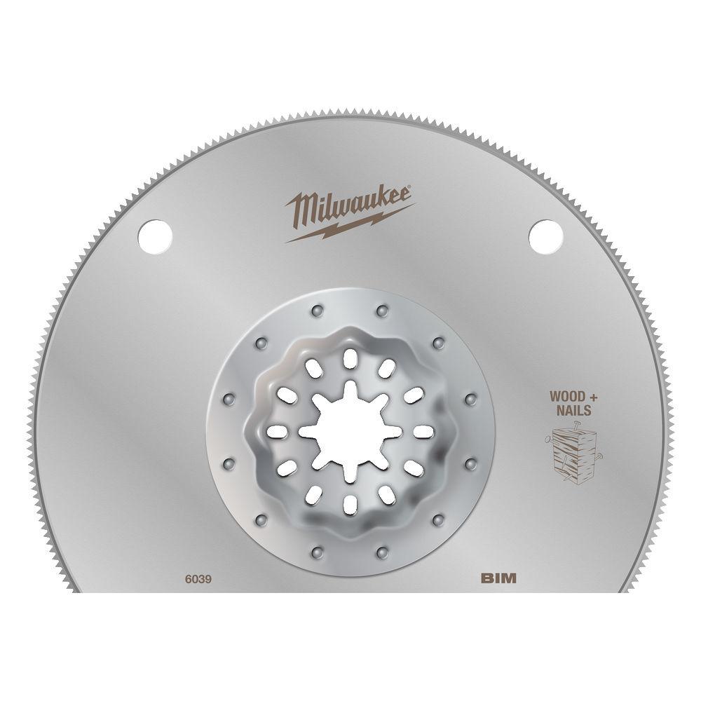 Starlock Multimateriaal 100x28mm  diameter Bi-metaal segmentzaagblad voor een lange levensduur
