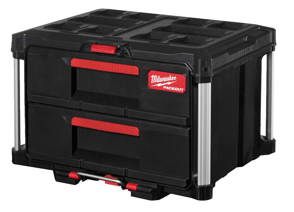PACKOUT™ Toolbox met twee lades