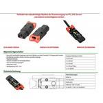 Abzugsichere Kaltgerätebuchse IEC-Lock+