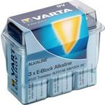 Varta 3 x Varta 6LR61/6LP3146/9V Block (4122) - Alkali-Mangan Batterie (Alkaline), 9 V