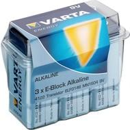 Varta 3 x Varta 6LR61/6LP3146/9V Block (4122)