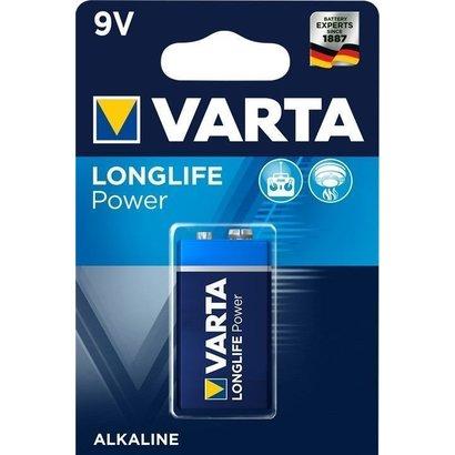 Varta Varta Block Batterie 6LR61/6LP3146/9V Block (4922) - Alkali-Mangan Batterie (Alkaline), 9 V