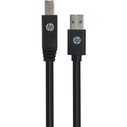 HP Brand Licensed USB A auf USB B Kabel, schwarz<br>USB 3.0-Stecker (Typ A) > USB 3.0-Stecker (Typ B)