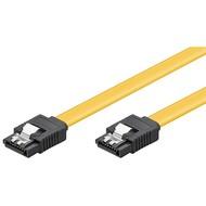 PC Datenkabel, 6 Gbits, Clip<br>SATA L-Typ Stecker > SATA L-Typ Stecker 0.1M