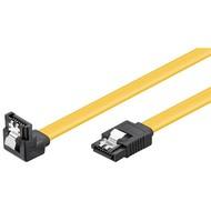 PC Datenkabel, 6 Gbits, 90° Clip<br>SATA L-Typ Stecker > SATA L-Typ Stecker 90° 0.1M