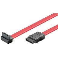 HDD S-ATA Kabel 1.5 GBits / 3 GBits 90°<br>SATA L-Typ Stecker > SATA L-Typ Stecker 90° 0.5M