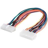 PC Motherboard ATX/EATX Stromkabel Verlängerung 20 Pin<br>ATX 2.0-Stecker (20-Pin) > ATX 2.0-Buchse (20-Pin)