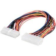 PC Motherboard ATX/EATX Stromkabel Verlängerung 24 Pin<br>ATX 2.2-Stecker (24-Pin) > ATX 2.2-Buchse (24-Pin)
