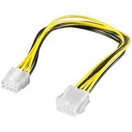 PC Stromkabel Verlängerung EPS, 8 Pin<br>EPS-Stecker > EPS-Buchse