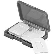 Speicherkarten-Transportbox<br>passgenau für max. 4x SD / Micro SD / MMC-Karten