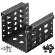 2,5'' Festplatten-Einbaurahmen auf 3,5'' - 4-fach<br>geeignet für den EInbau von bis zu vier 2,5'' Festplatte in einen 3,5'' Gehäuseschacht