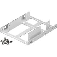 2,5'' Festplatten-Einbaurahmen auf 3,5'' - 2-fach<br>geeignet für den Einbau von bis zu zwei 2,5'' Festplatte in einen 3,5'' Gehäuseschacht