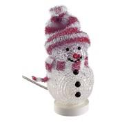 Dekorativer USB Schneemann rot<br>für einen weihnachtlichen Touch am Schreibtisch