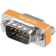 Nullmodem-Adapter<br>D-SUB/RS-232-Stecker (9-polig) > D-SUB/RS-232-Buchse (9-polig)