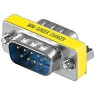 Gender Changer D-SUB<br>D-SUB/RS-232-Stecker (9-polig) > D-SUB/RS-232-Stecker (9-polig)
