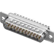 SUB-D standard Stiftleisten<br>25-polig