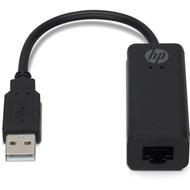 HP Brand Licensed Netzwerk Adapter - USB A auf RJ45 Buchse<br>Verbinden Sie Ihr Ultrabook mit einem kabelgebundenen lokalen Netzwerk