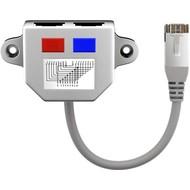 Kabel-Splitter (Y-Adapter)<br>Beschaltung 1:1