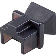 Staubschutz für RJ45 Buchse<br>z.B. geeignet für den Einsatz in Patchpanels