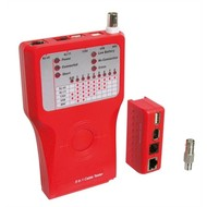 Netzwerk Kabeltester Firewire<br>zurPrüfung von CAT 5/6 Netzwerk- und ISDN-Verbindungen