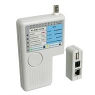 Netzwerk Kabeltester USB<br>zur Prüfung von CAT 5/6 Netzwerk- und ISDN-Verbindungen