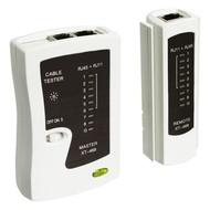 Netzwerk Kabeltester<br>zur Prüfung von CAT 5/6 Netzwerk- und ISDN-Verbindungen