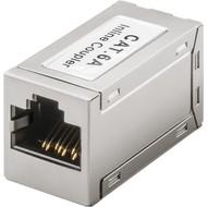 RJ45 Modularkupplung/Verbinder, CAT 6A<br>2x RJ45-Buchse (8P8C)