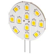 LED Strahler, 2 W<br>Sockel G4, ersetzt 22 W, kalt-weiß, nicht dimmbar